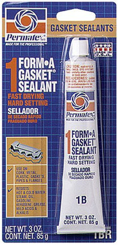 Permatex Form-A-Gasket # 1 Sealant 3oz Tube - Discount Industrial Hardware Supply