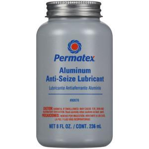 Permatex - #133 Anti-Seize Lubricant 8oz Brush Top Bottle - Discount Industrial Hardware Supply