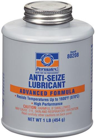 Permatex - #767 Anti-Seize Lubricant 1lb Brush Top Bottle - Discount Industrial Hardware Supply