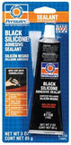 Permatex #16 Black Silicone Adhesive Sealant 3oz Tube - Discount Industrial Hardware Supply