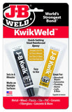 J-B KwikWeld  Twin Tube - (2) 1 oz Tubes - Discount Industrial Hardware Supply