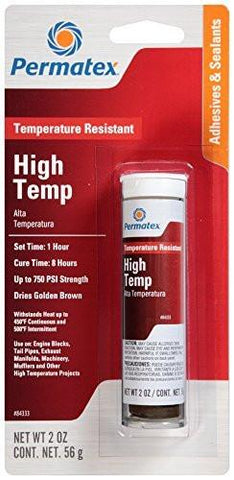 Permatex High Temperature Resistant Epoxy 2oz Putty Stick - Discount Industrial Hardware Supply