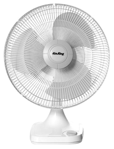 "Air King  12"" Oscillating Table Fan - Discount Industrial Hardware Supply"