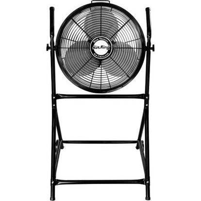 "Air King  18"" Roll About Stand w/ Fan - Discount Industrial Hardware Supply"