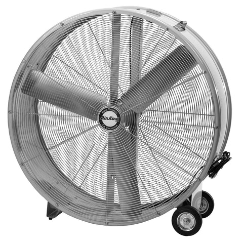 "Air King 36"" Direct Drive Drum Fan - Discount Industrial Hardware Supply"