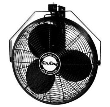 "Air King  18"" Wall Mount Fan - Discount Industrial Hardware Supply"