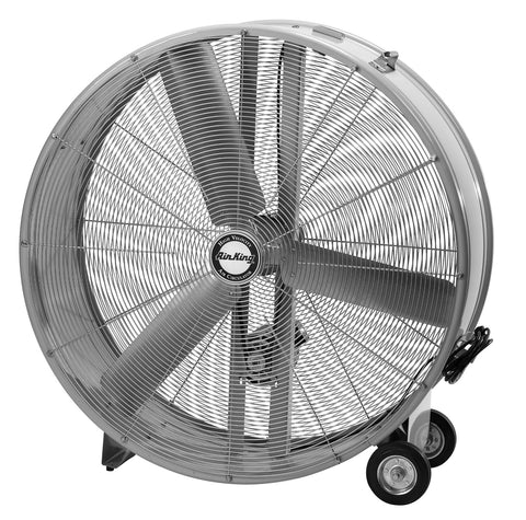 "Air King  42"" Belt Drive Drum Fan - Discount Industrial Hardware Supply"