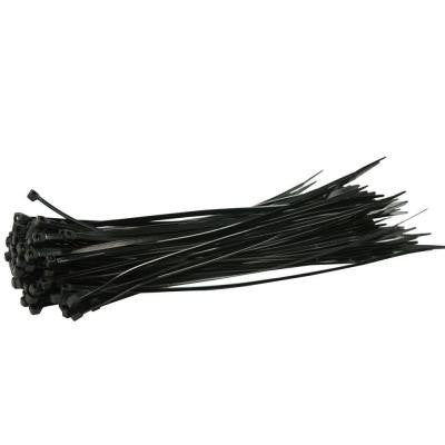 "Cable Ties 8"" Black UV Resistant - Discount Industrial Hardware Supply"
