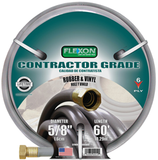 Flexon Contractor Grade Rubber & Vinyl 6-Ply 60' Hose - Discount Industrial Hardware Supply