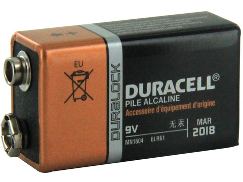 Duracell Coppertop 9V - Discount Industrial Hardware Supply
