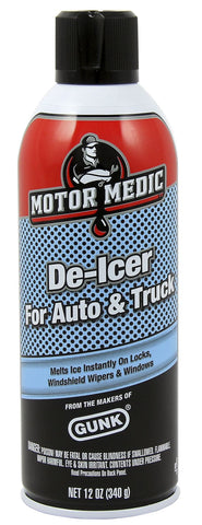 Motor Medic - Auto & Truck Windshield DeIcer 12oz - Discount Industrial Hardware Supply