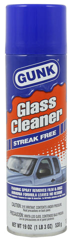 Gunk  Glass Cleaner Ammonia 19oz Aerosol - Discount Industrial Hardware Supply
