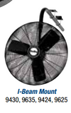 "Air King  30"" Oscillating I-Beam Mount Fan - Discount Industrial Hardware Supply"