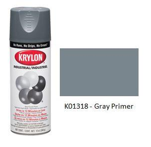 Krylon® Industrial Acryli-Quik™ - Gray Primer - Discount Industrial Hardware Supply