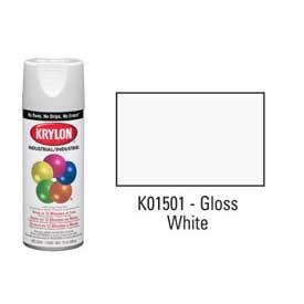 Krylon® Industrial Acryli-Quik™ - Gloss White - Discount Industrial Hardware Supply