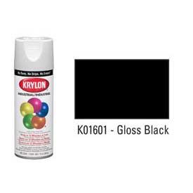 Krylon® Industrial Acryli-Quik™ - Gloss Black - Discount Industrial Hardware Supply