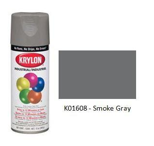 Krylon® Industrial Acryli-Quik™ - Smoke Gray - Discount Industrial Hardware Supply