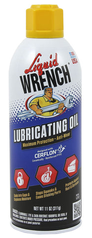 Liquid Wrench Lubricating Oil Spray 11oz - Discount Industrial Hardware Supply