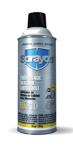 Sprayon  FOOD GRADE SILICONE LUBRICANT LIQUI-SOL™ - Discount Industrial Hardware Supply