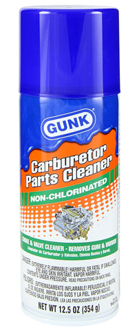 Gunk  Carburetor Cleaner Non Chlorinated 12oz - Discount Industrial Hardware Supply