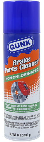Gunk  Ultra Low VOC Brake Cleaner 14oz - Discount Industrial Hardware Supply