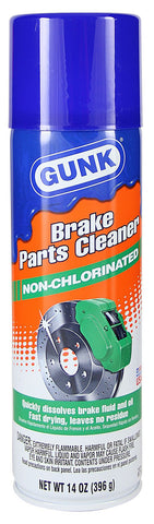Gunk -  Brake & CV Cleaner Non-Chlorinated 14oz - Discount Industrial Hardware Supply