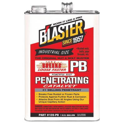 Blaster PB Penetrating Catalyst 1 Gallon - Discount Industrial Hardware Supply