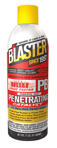 Blaster PB Penetrating Catalyst 11oz. - Discount Industrial Hardware Supply