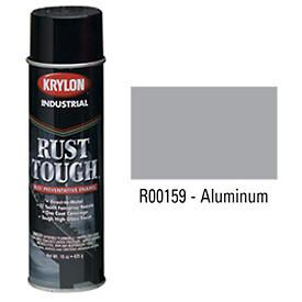 Krylon® Industrial Rust Tough® Acrylic Enamel Aerosol Aluminum - Discount Industrial Hardware Supply