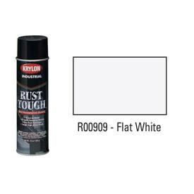 Krylon® Industrial Rust Tough® Acrylic Enamel Aerosol - Flat White - Discount Industrial Hardware Supply