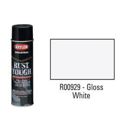 Krylon® Industrial Rust Tough® Acrylic Enamel Aerosol - Gloss White - Discount Industrial Hardware Supply