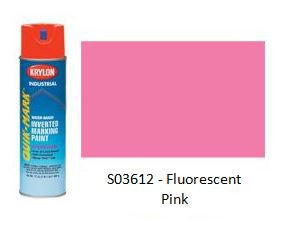 Krylon® Industrial Quik-Mark™- Fluorescent Pink - Discount Industrial Hardware Supply