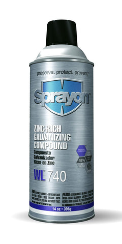 Sprayon WL740 ZINC-RICH GALVANIZING COMPOUND - Discount Industrial Hardware Supply