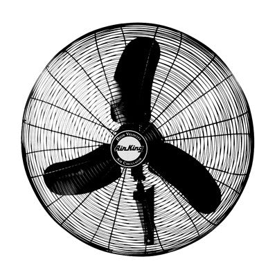 "Air King  16"" Oscillating Wall Mount Fan - Discount Industrial Hardware Supply"