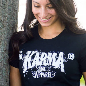 Karma Inc Apparel Logo T-shirt