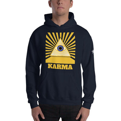 "Karma Inc Apparel ""Karma Eye"" Unisex Hooded Sweatshirt - Karma Inc Apparel"