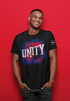 "Karma Inc Apparel  Karma Inc Apparel ""UNITY R.W.B."" Men's American Made T-Shirt"