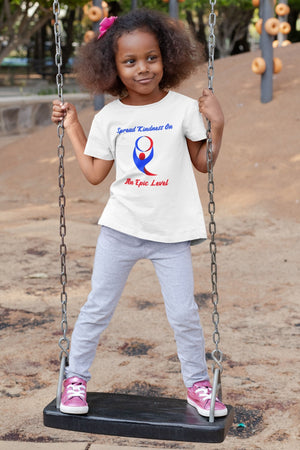 """Spread Kindness On An Epic Level Youth T-Shirt - Karma Inc Apparel"