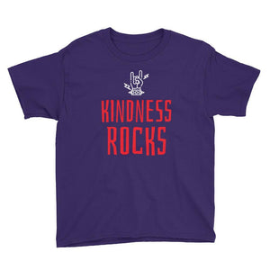 """Kindness Rocks"" Youth T-Shirt - Karma Inc Apparel"