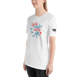 "Karma Inc Apparel ""With Liberty and Justice For All"" Unisex T-Shirt - Karma Inc Apparel"