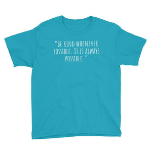 "Karma Inc Apparel ""Be Kind Whenever Possible"" Youth T-Shirt - Karma Inc Apparel"
