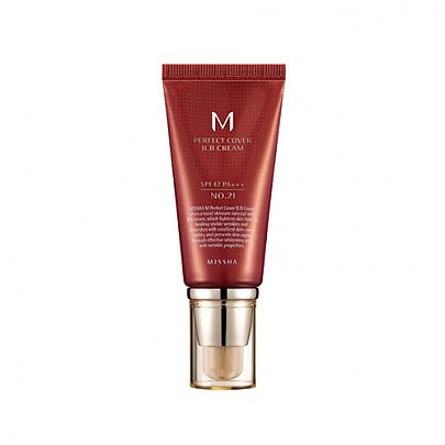 MISSHA M Perfect Covering BB Cream #21 Light Beige