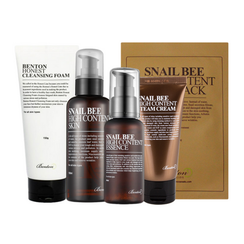 Benton Snail Bee High Content Skincare Routine Value Set ($110 Value)