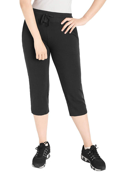 Women's Cotton Joggers Knit Capri Pants with Pockets - Latuza