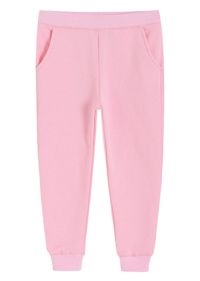 Girls' Fleece Jogger Pull On Sweatpants with Pockets - Latuza