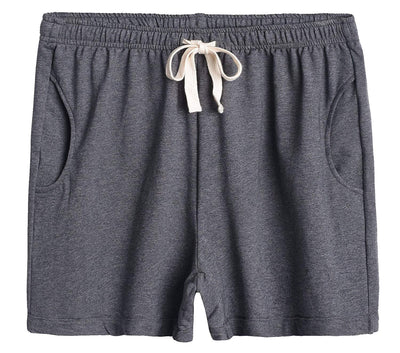 Women's Cotton Stretchy Lounge Sweat Shorts - Latuza