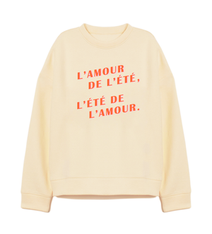 SWEAT-SHIRT / L'AMOUR DE L'ÉTÉ
