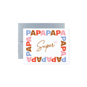 GREETING CARDS / SUPER DAD