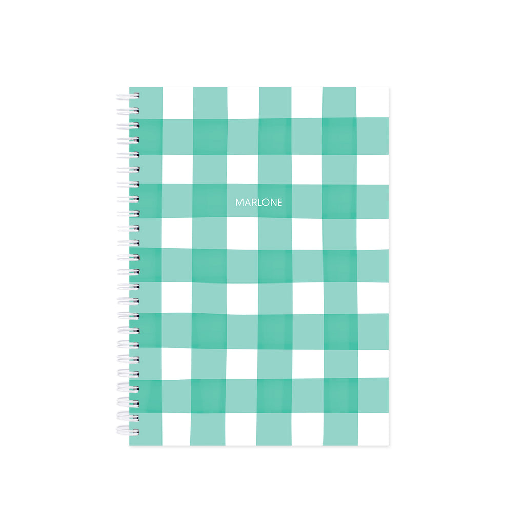 NOTEBOOK / GINGHAM