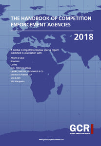 The Handbook of Competition Enforcement Agencies 2018
